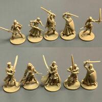 Set 10Pcs Golden DND Dungeons & Dragon D&D Marvelous Miniatures toy game figures