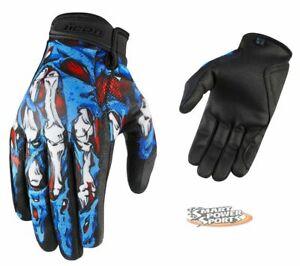 ICON - Hooligan Gloves - SUBDERMAL - MEDIUM - Lightweight Summer Street Glove -