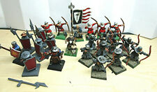 Warhammer Bretonnian Men at Arms Bowmen Lot