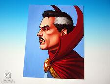 Dr. Strange Mondo Mike Mitchell Portrait Print Marvel Comics Rare Giclee Proof
