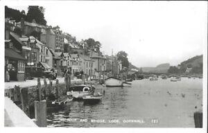 LOOE ( Cornwall ) : Harbour and Bridge ,Looe RP-MILLAR & LANG