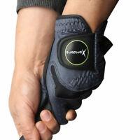 XSpiders Nice Shot Mens Golf Glove 3 Packs LH Sheepskin & Microfiber Pick Color
