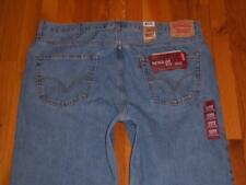 NWT Mens Levi's Levis 505 Regular Fit Straight Jeans Size 44 X 32 44/32