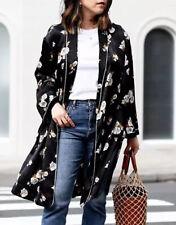 Zara Floral Kimono Coat With Velvet Trims L Genuine Zara Bloggers Fav