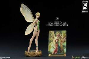 Sideshow Exclusive J. Scott Campbell TINKERBELL Statue Fairytale Fantasies