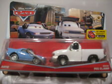 MATTEL PIXAR CARS LA SPEEDWAY ARTIE & BRIAN FEE CLAMP - 2 CAR PACK