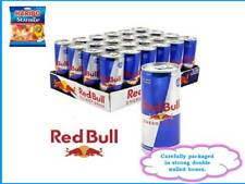 Red Bull Energy Drink 24 x 250ml Cans + 1 FREE Haribo Starmix sharing bag