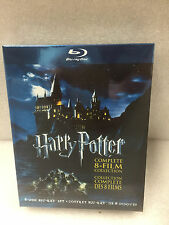 Harry Potter: Complete 8-Film Collection (Blu-ray, 2011, 8-Discs) New Sealed Box