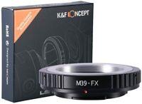 K&F Concept Objektivadapter für M39/L39 Objektiv auf Fujifilm FX Fuji X Kamera