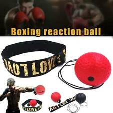 1x Boxing Punch Exercise Fight Ball Reflex Box-er React Speed Training Head Band