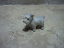 Made In Japan Porcelain Standing Dog Scottish Terrier 2 Inches In Length Cute