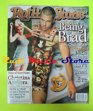 ROLLING STONE USA MAGAZINE 824/1999 Brad Pitt Christina Aguilera Eve No cd