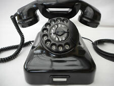 ALTES BAKELIT TELEFON  W48 + Mix & Genest  + 10 / 1956 + Wählscheibe + wie neu