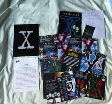 X-Files Two different Promotional Folders