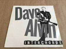 Dave Alvin - Romeo's Escape Interchords Vinyl LP 1986