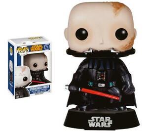 FUNKO Pop Unmasked Vader 43 Star Wars Darth Fener 9 CM Sans Maschera Figurine #1