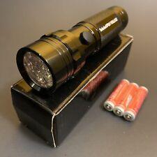New Timberland Pro-Valor Battery Powered White 14 LED Light Flashlight Torch NIB