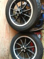 "10 spoke Harley Davidson 16"" x 3"" Wheel Touring Ultra Classic FLT FLHT"