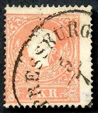 Austria # 9b, Used. Scv $37.50