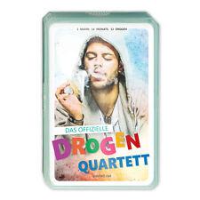 Drogen Quartett Kartenspiel Drogenquartett Quartettspiel Party Geschenk Männer