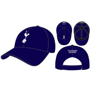 Tottenham Hotspur New Era Embroidered 9Forty Navy Baseball Hat Official Licensed