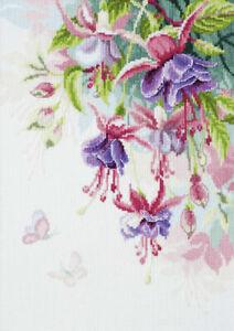 Fuchsia Cross Stitch Kit