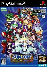 Used PS2 Sunsoft Collection  SONY PLAYSTATION 2 JAPAN IMPORT