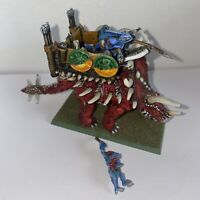 Warhammer Fantasy Lizardmen Seraphon Stegadon Metal OOP Dinosaur D&D + Figures 2