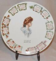 Vtg Agricultural Store Advertising Calendar Plate 1909 C P Meredith Griswold IA