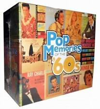 NewPop Memories Of The 60s Time Life 10 CD Box Set Easy Listening 60's Music F&S