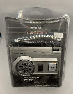 Radio Shack Voice Activated Handheld Cassette Recorder with Playback 14-1129