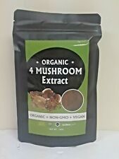 Organic Mushroom Superfood Blend - Reishi Lion's Mane Cordyceps Chaga Extract
