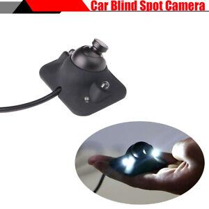 170° Wide Angle COMS Car Blind Spot HD Camera 2 LED Night Vision Waterproof 12V