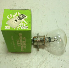 STANLEY VINTAGE SNOWMOBILE HEADLIGHT 12V 60W BULB PART NUMBER A7018E