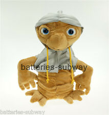 10' 25cm E.T. the Extra-Terrestrial New in Grey Coat Soft Plush Doll Figure Toy