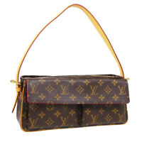 LOUIS VUITTON VIVA CITE MM HAND BAG AR1023 PURSE MONOGRAM CANVAS M51164 35557