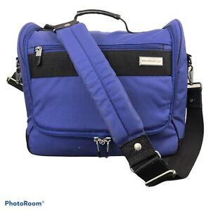 Briggs And Riley Travelware Bag Blue