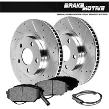 Front Brake Rotors And Metallic Pads BMW E60 525 525i 525xi 528xi 530 535xi 535i