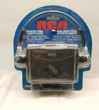 RCA RP-1875A Digital AM/FM Cassette Player w Headphones - SEALED