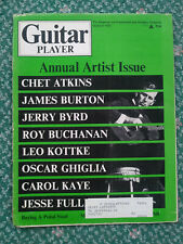 Guitar Player Magazine Mar 1972 Chet Atkins Buchanan