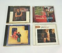 Lot of 4 Country Music CDs Randy Travis, The Judds, George Strait & John Denver