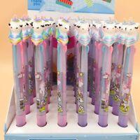 3 in 1 Cute Cartoon Unicorn Ballpoint Pen Pens School Office Kids Stationery