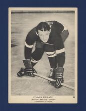 1939-40 O-Pee-Chee V301-1 Cooney Weiland #92 Boston Bruins (5 X 7) !