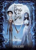 Corpse Bride DVD - Brand New!  Unopened!