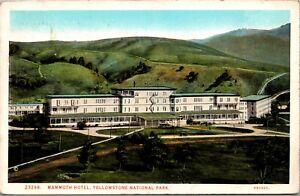 Postcard Mammoth Hotel at Yellowstone National Park~1628