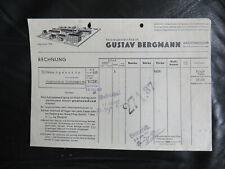 Kachtenhausen bei Ehlenbruch Lippe alte Rechnung Polstergestell-Fabrik 1937