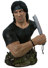 HCG RAMBO IV: 1:2 SCALE BUST SYLVESTER STALLONE