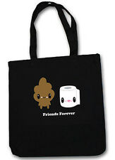 Bored Inc. Friends Forever Stinky Poo and T.P. Tote Bag ~ Officially Licensed