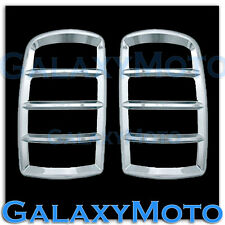 00-06 GMC Yukon+XL 1500+2500 Triple Chrome Taillight Tail Light Trim Lamp Cover