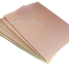 5x Copper Clad Laminate Circuit Boards FR4 PCB Double Side 15cmx20cm 150mmx200mm